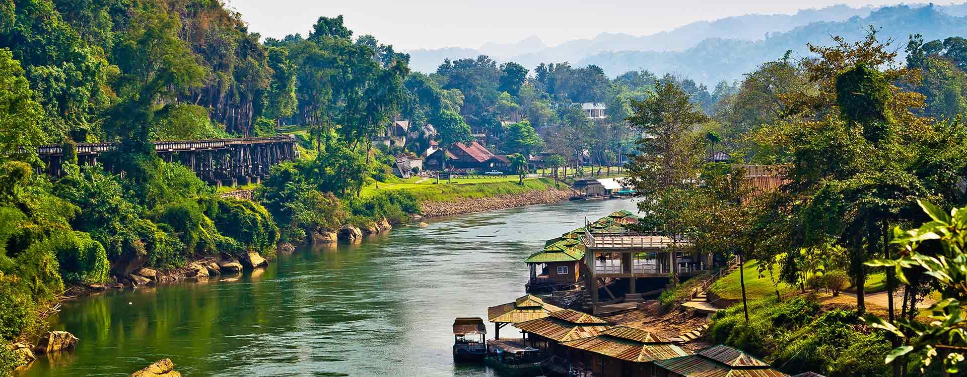 Thaïlande Rivière Kwaï