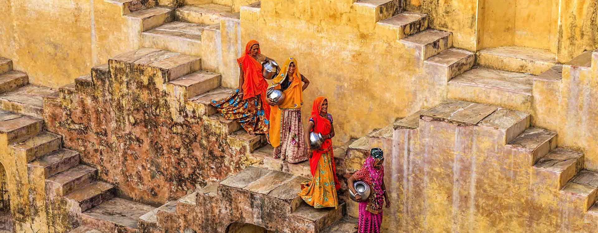 Femmes indiennes au Rajasthan - homepage