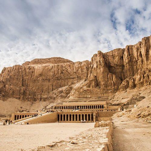 Voyage en Egypte, Temple D'Hapshetsout