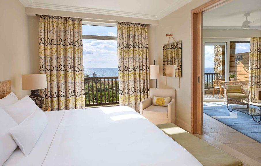 Chambre, suite Premium, hôtel The Westin Resort, Costa Navarino, Grèce