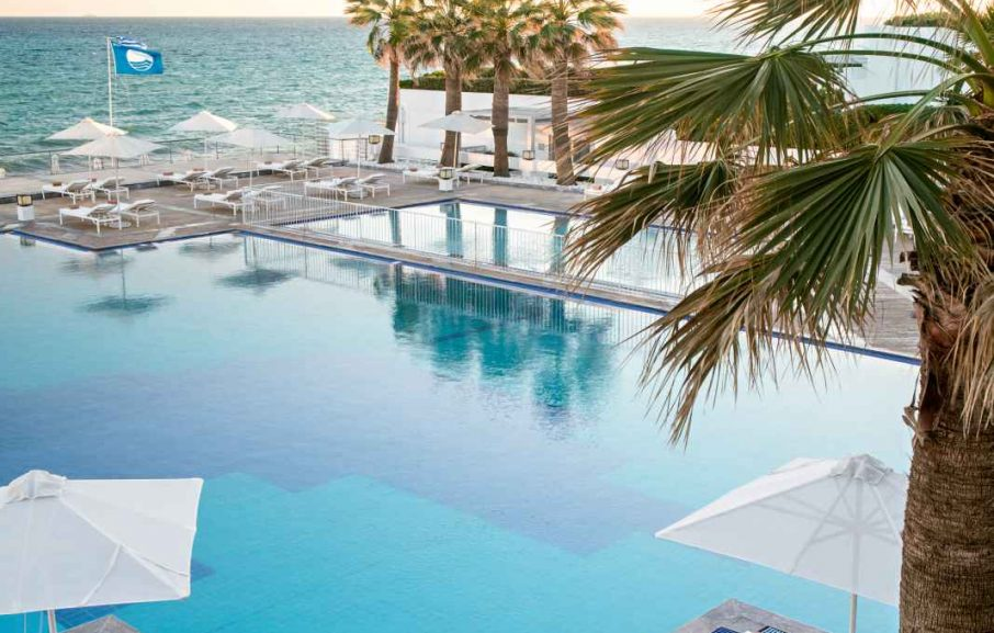 Piscine, White Palace Grecotel Luxury Resort, Réthymnon, Crète, Grèce