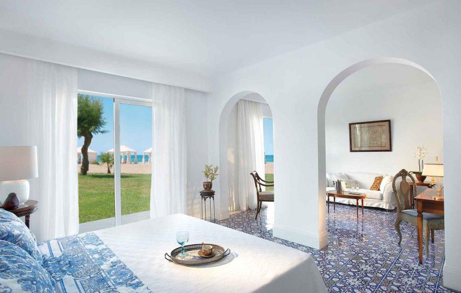 Villa front de mer avec 2 chambres, Caramel Grecotel Boutique Resort, Réthymnon, Crète, Grèce.