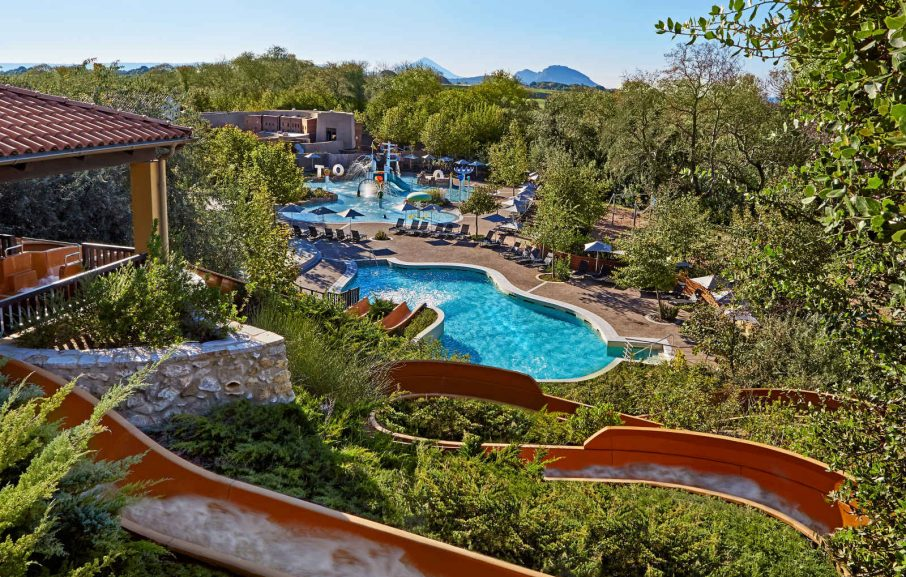 Parc de loisirs Aquapark, hôtel The Westin Resort, Costa Navarino, Grèce