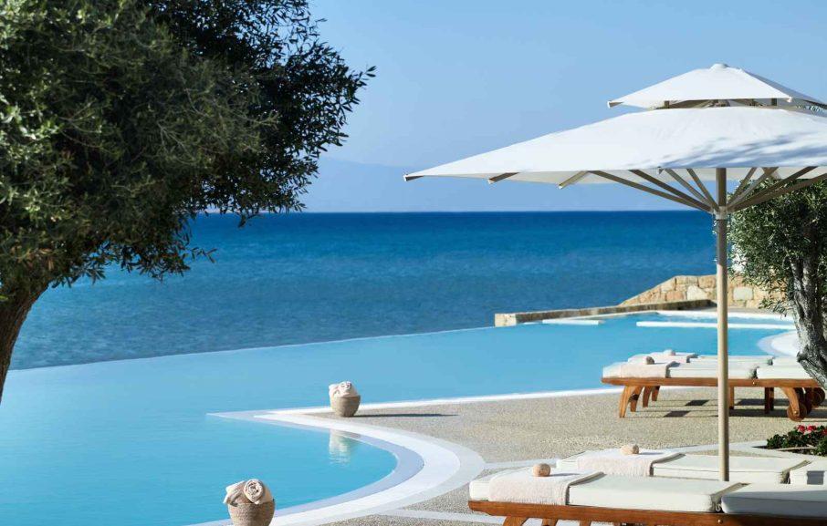 Sani Beach, Chalcidique, Grèce