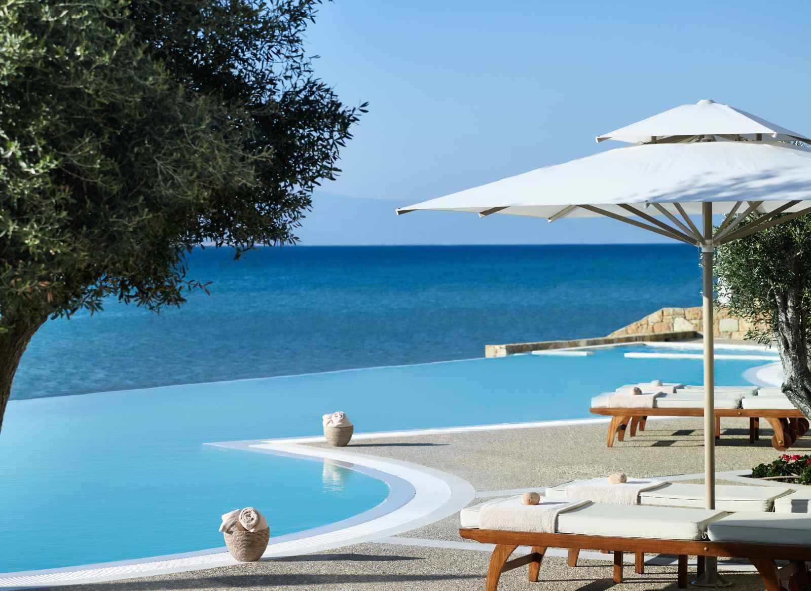 Grèce : Sani Beach