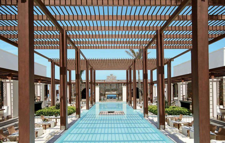 Restaurant Amirandes, Amirandes Grecotel Exclusive Resort, Crète, Grèce.
