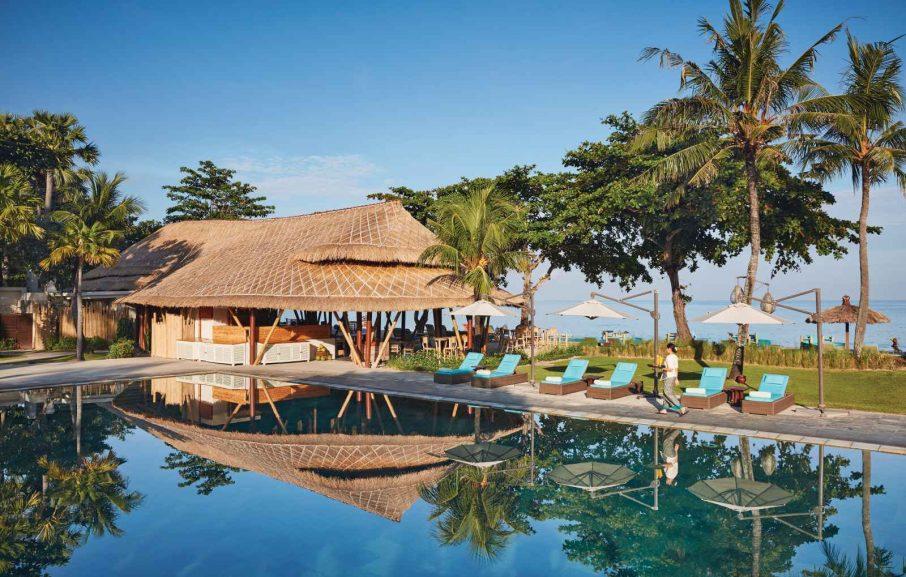 Piscine, Belmond Jimbaran Puri, Bali, Indonésie