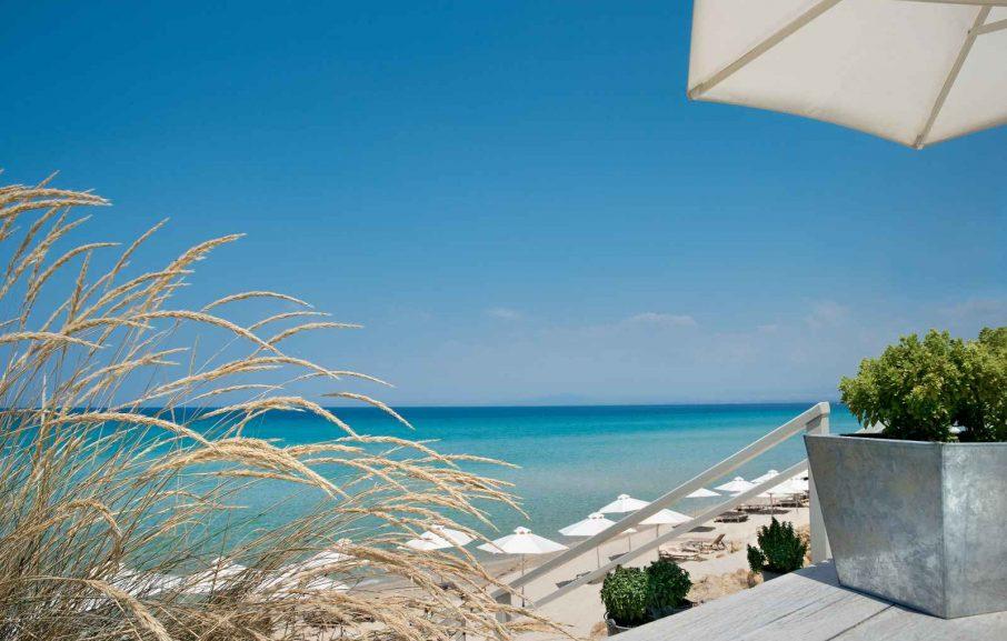 Bousoulas Beach, Sani Beach, Chalcidique, Grèce