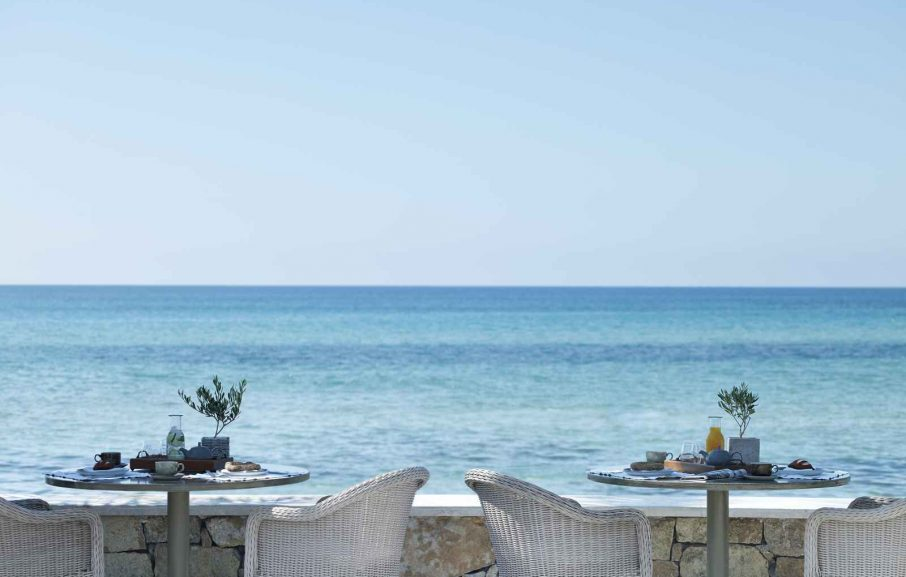 Restaurant Ammos, Sani Beach, Chalcidique, Grèce