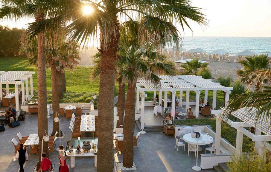 Restaurant Barbarossa, Grecotel Creta Palace, Crète, Grèce.