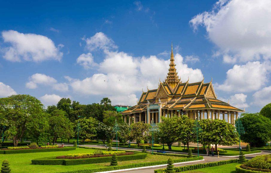 Pavillon Chanchhaya, Palais Royal, Phnom Penh, Cambodge