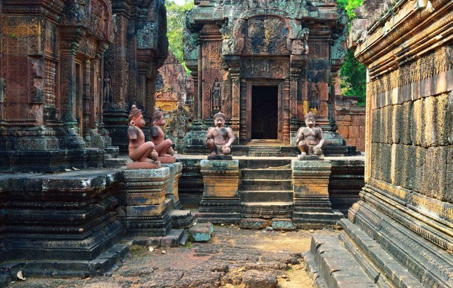 Temple Banteay Srei,Siem Reap, Cambodge