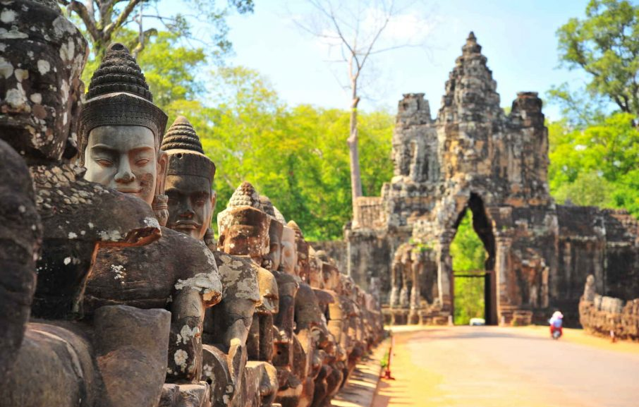 Angkor Thom,Siem Reap, Cambodge
