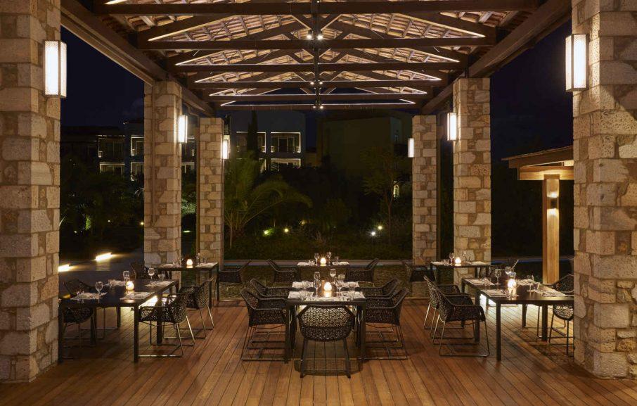 Restaurant Morias, hôtel The Westin Resort, Costa Navarino, Grèce