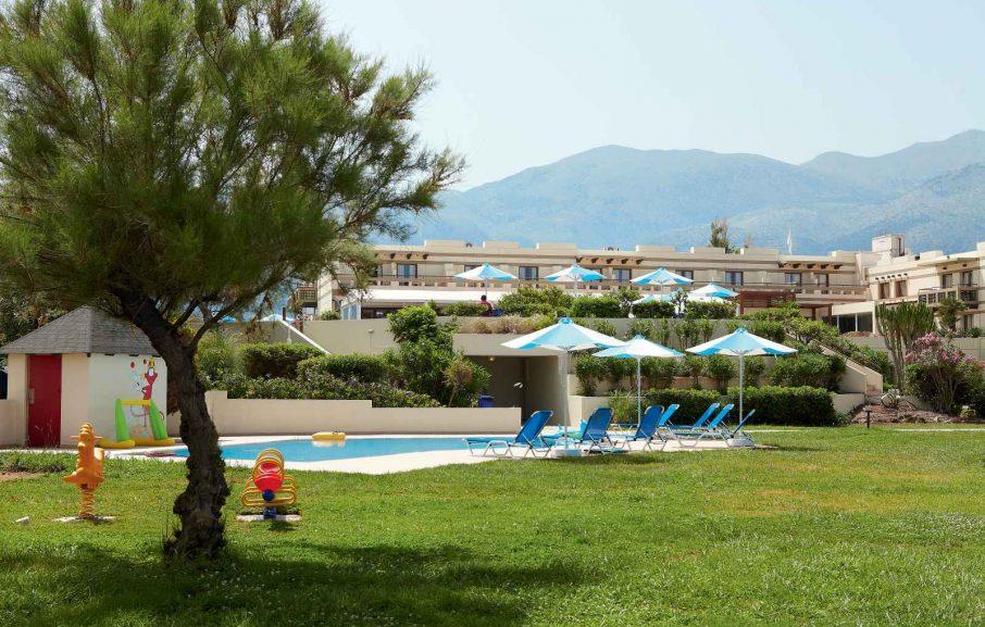 Piscine enfant, Meli Palace, Crète, Grèce