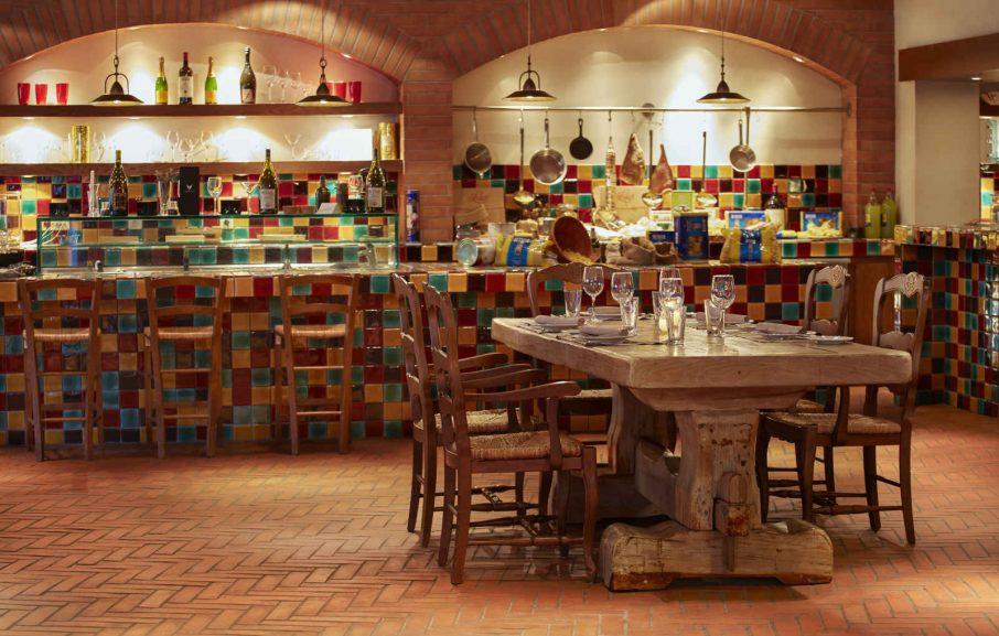 Restaurant Da Luigi, hôtel The Westin Resort, Costa Navarino, Grèce