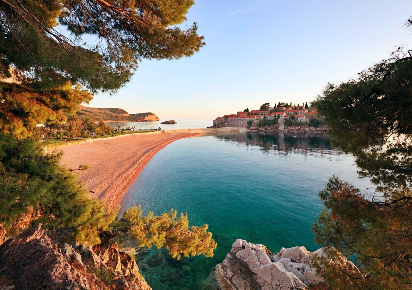 Montenegro : Aman Sveti Stefan