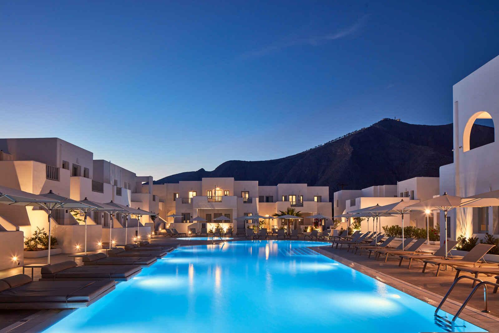Grèce : Aqua Blue Hotel