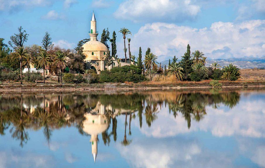 Mosquée Tekke Tala Sultan, Larnaca, Chypre.
