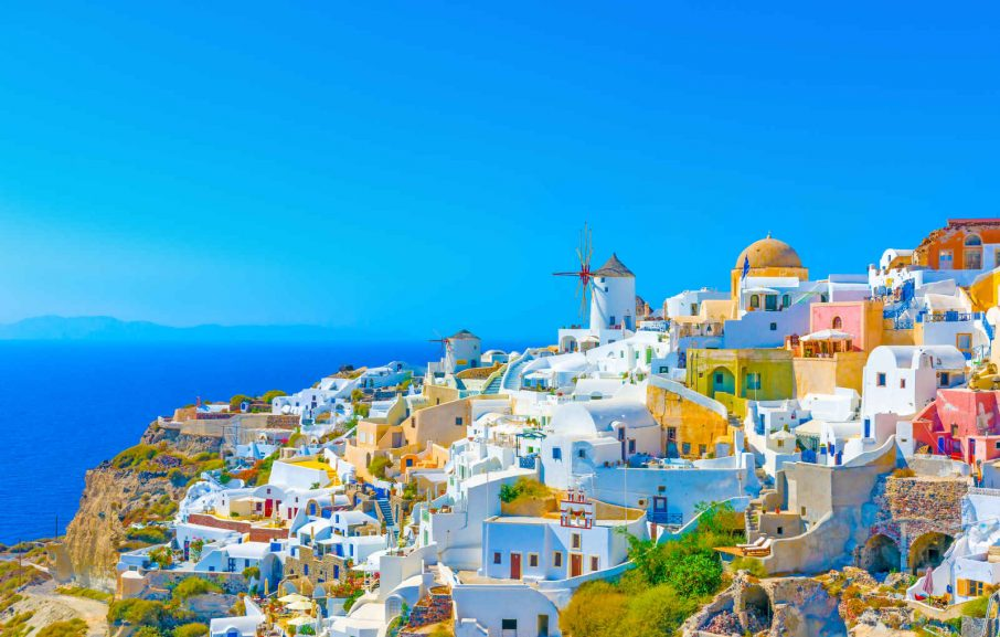 Oia, Santorin, Grèce