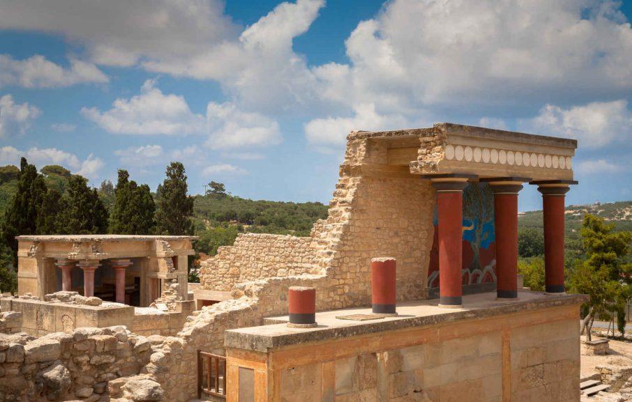 Palais de Knossos, Crète, Grèce