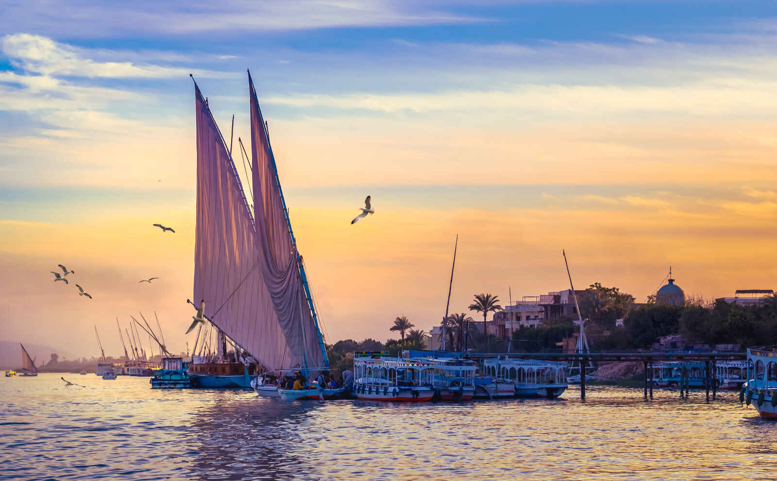 Égypte : Flânerie au fil du Nil