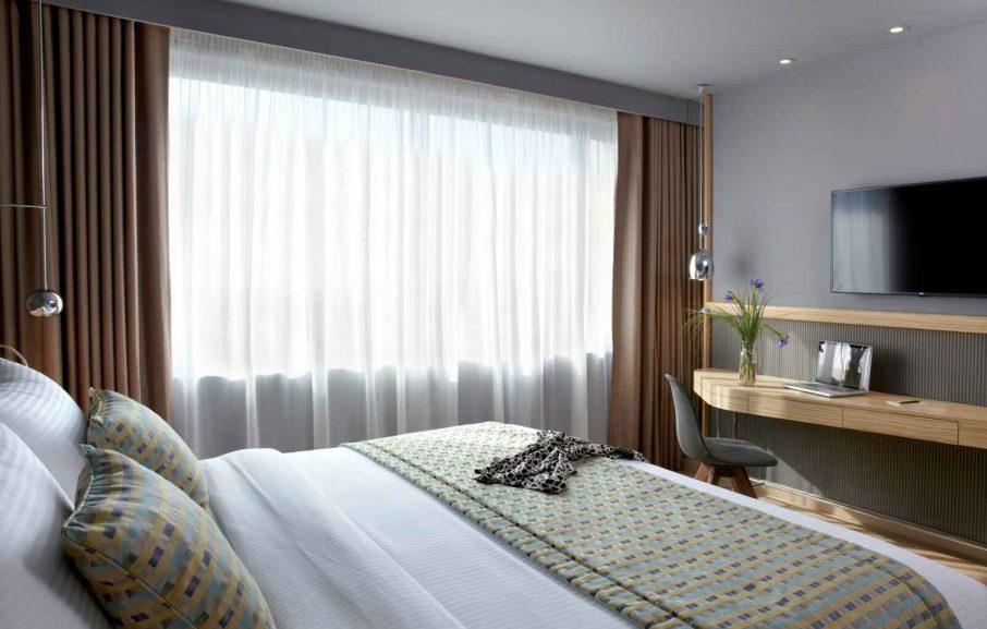 Executive Twin City View room, hotel Wyndham Grand Athens, Athènes, Grèce.