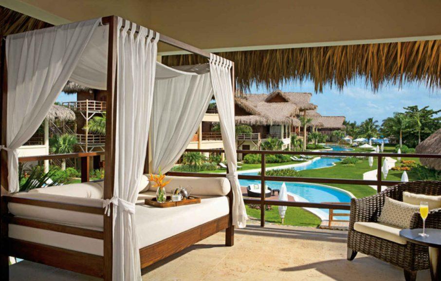 Romantic Junior Suite Pool View, Hôtel Zoëtry Agua Punta Cana, République Dominicaine