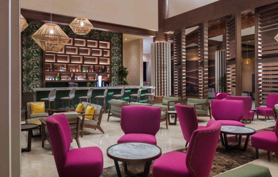 Rendez-vous Lobby Bar, Hôtel Dreams Macao Beach Punta Cana, République Dominicaine