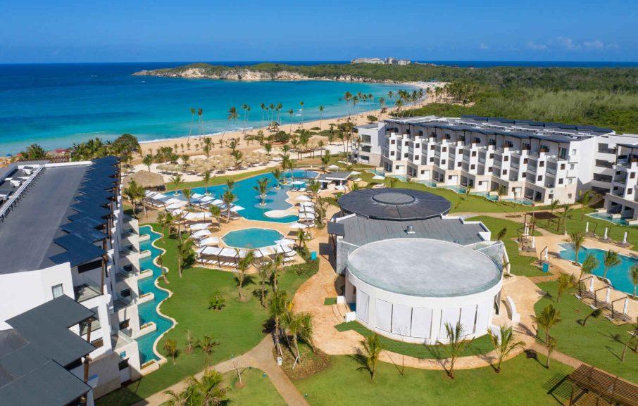 Vue aérienne, Hôtel Dreams Macao Beach Punta Cana, République Dominicaine