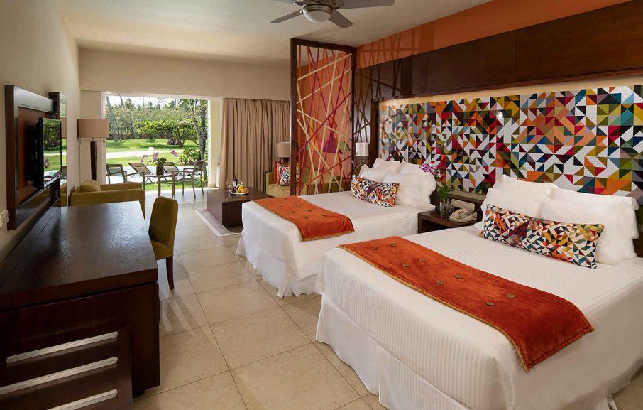 Xhale club Junior Suite Swim-Up, Hôtel Breathless Punta Cana Resort & Spa, République Dominicaine