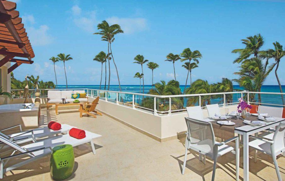 Xhale club Presidential Suite, Hôtel Breathless Punta Cana Resort & Spa, République Dominicaine