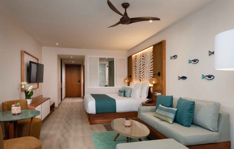 Junior Suite Tropical View, Hôtel Dreams Macao Beach Punta Cana, République Dominicaine