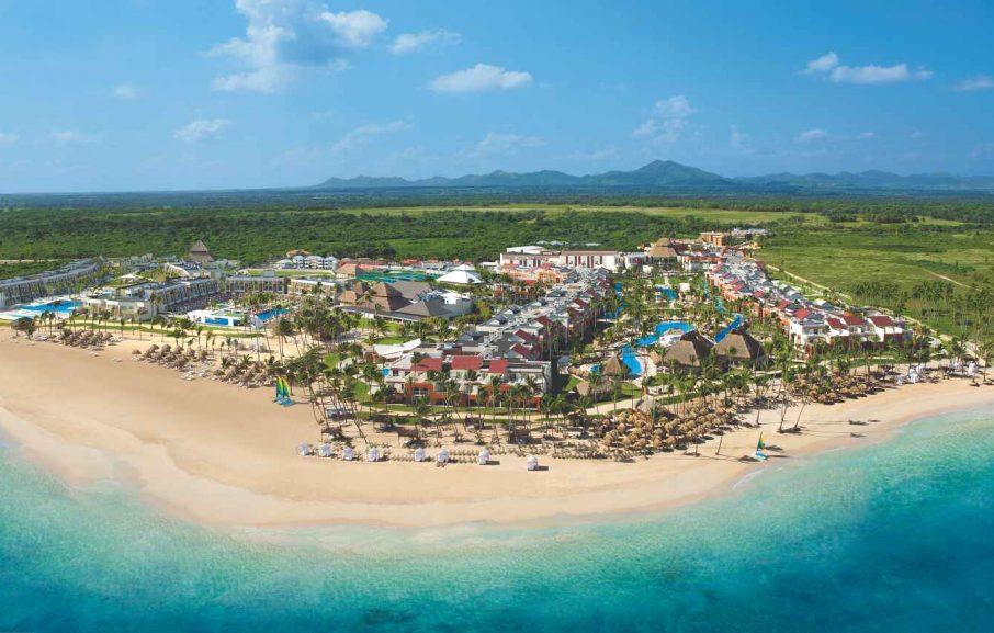 Vue aérienne, Hôtel Breathless Punta Cana Resort & Spa, République Dominicaine