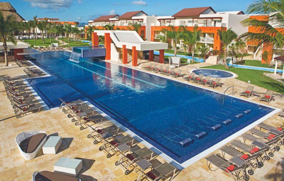 Piscine, Hôtel Breathless Punta Cana Resort & Spa, République Dominicaine
