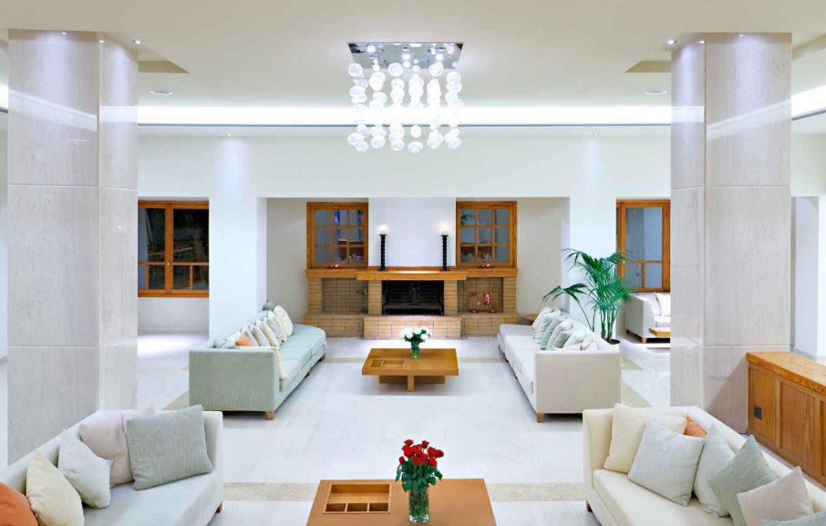 Lobby, Hôtel Miramare Eretria, Eretria, Grèce