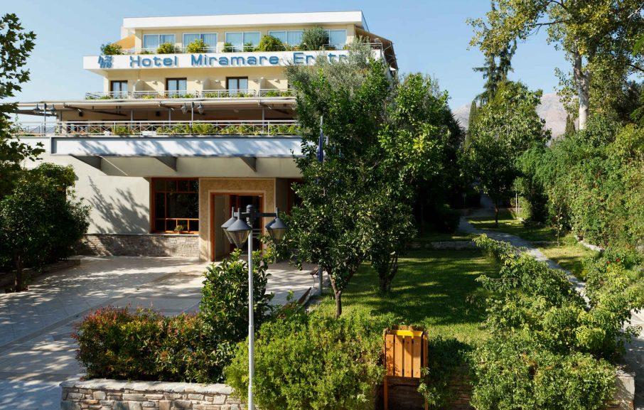 Vue extérieure, Hôtel Miramare Eretria, Eretria, Grèce