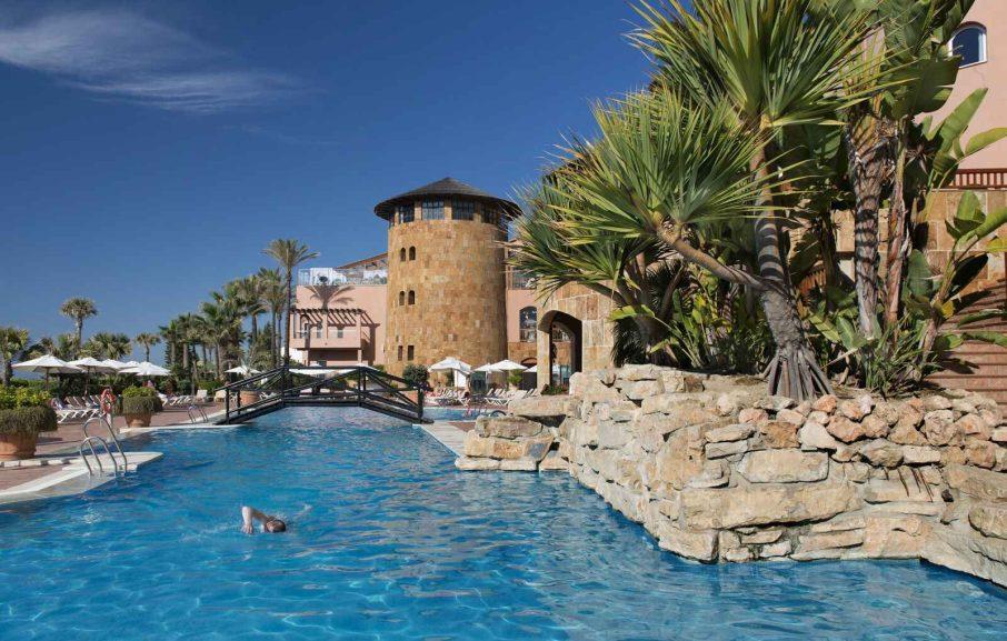 Piscine, Elba Estepona Gran Hotel & Thalasso Spa, Malaga, Espagne