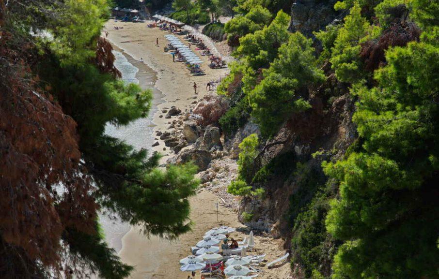 Plage, Alonissos Beach Bungalows & Suites Hotel, Alonissos, Grèce