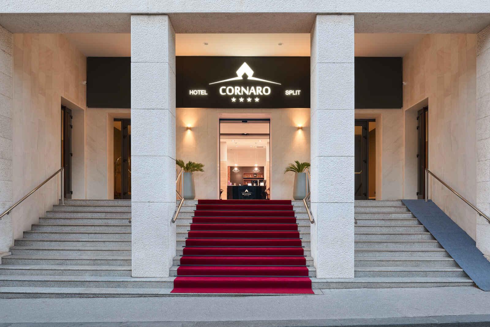 Croatie : Cornaro Hotel - Split