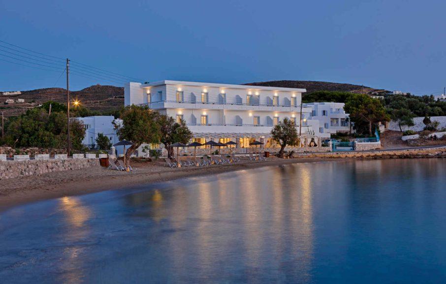 Vue extérieure, Boutique Di Mare Hotel & Suites, Syros, Grèce