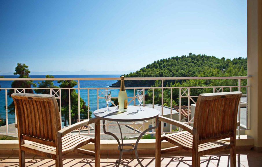 Balcon, Bungalow, Alonissos Beach Bungalows & Suites Hotel, Alonissos, Grèce