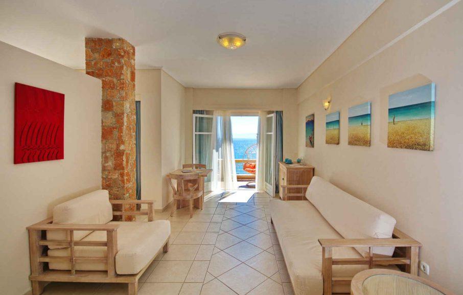 Suite, Alonissos Beach Bungalows & Suites Hotel, Alonissos, Grèce