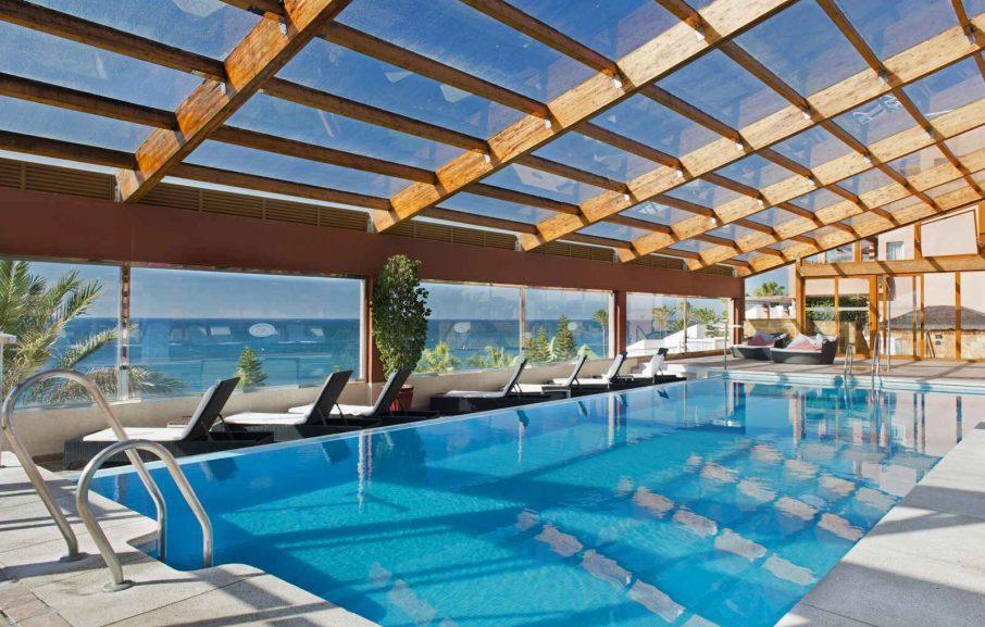 Piscine intérieure, Elba Estepona Gran Hotel & Thalasso Spa, Malaga, Espagne