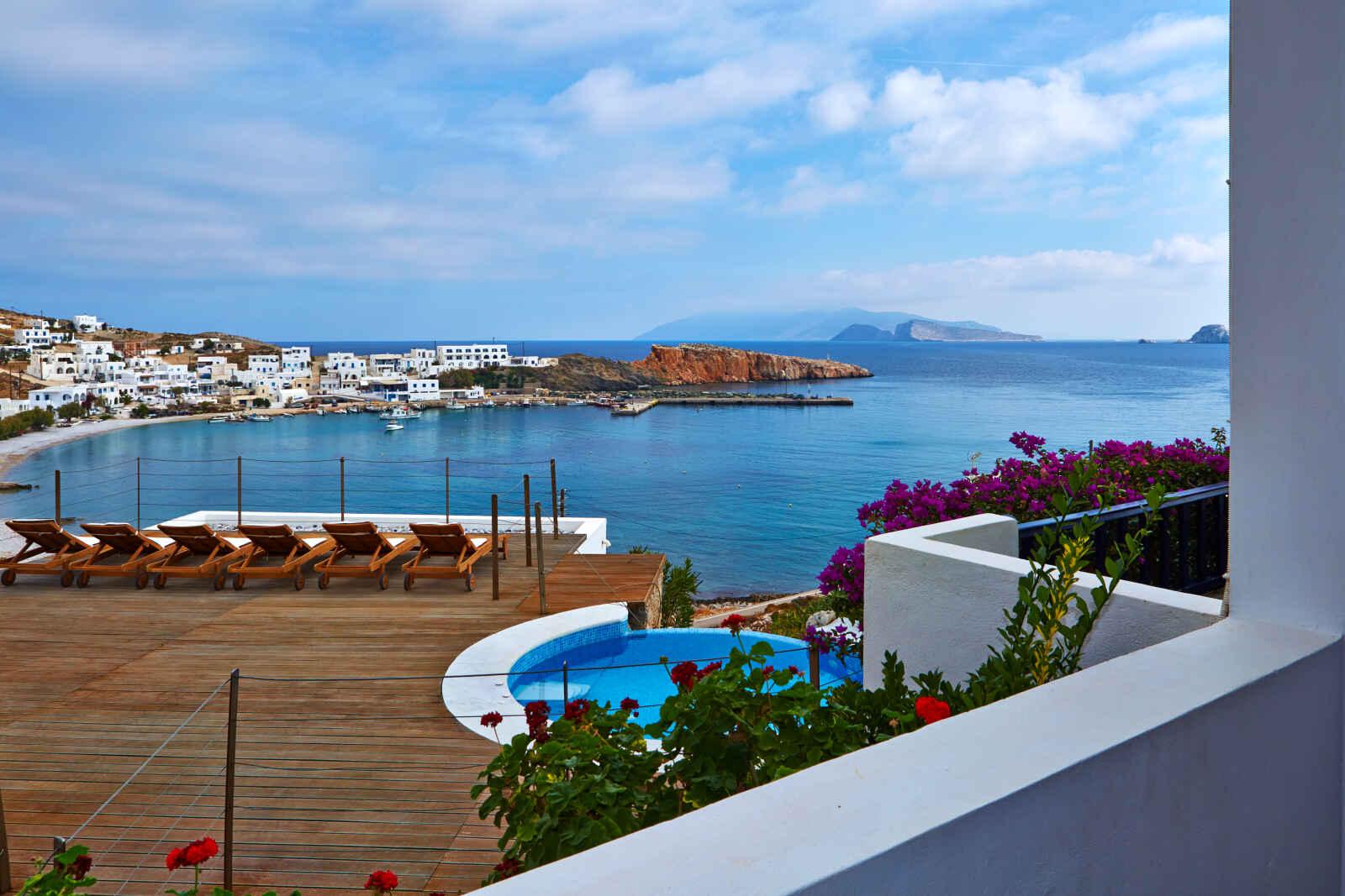 Grèce : Vrahos Boutique Hotel