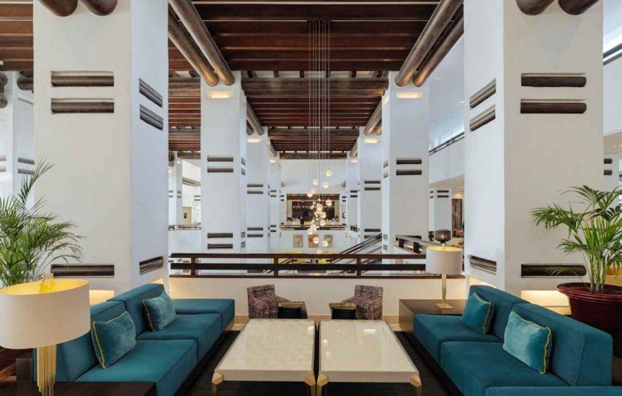 Lobby, Hôtel H10 Estepona Palace, Malaga, Espagne