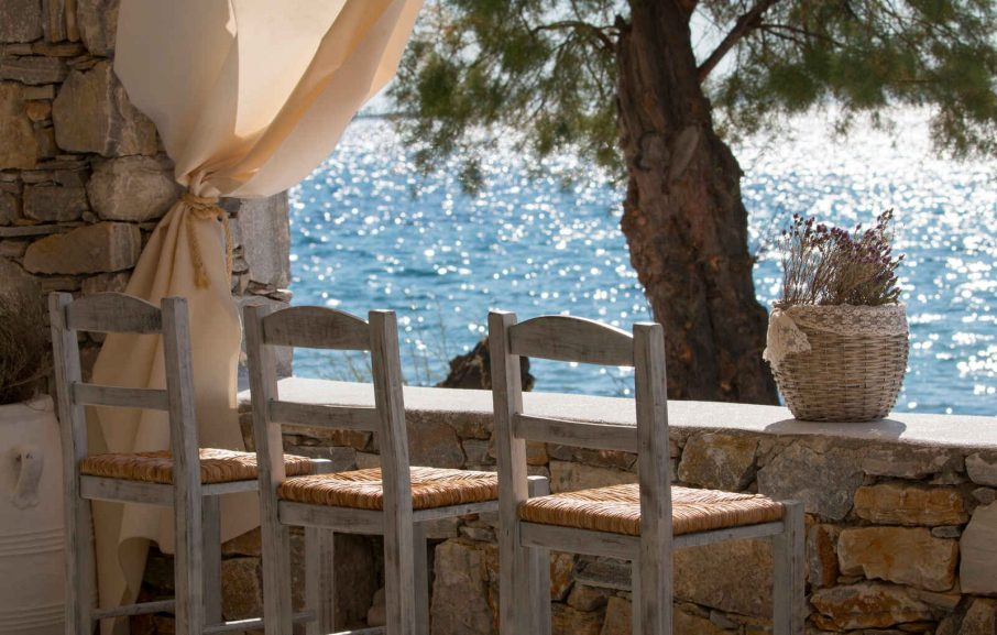 Restaurant, Boutique Di Mare Hotel & Suites, Syros, Grèce