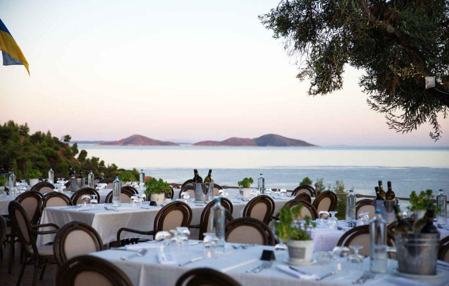 Restaurant, Alonissos Beach Bungalows & Suites Hotel, Alonissos, Grèce