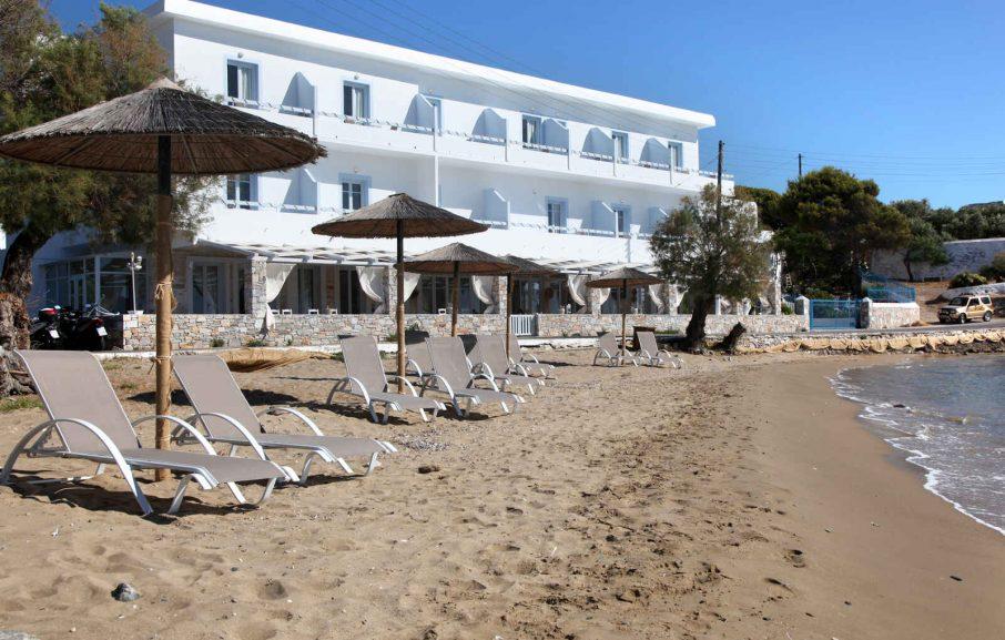 Plage, Boutique Di Mare Hotel & Suites, Syros, Grèce