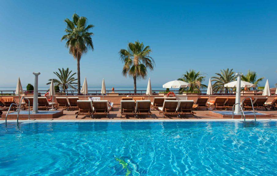 Piscine, Hotel Fuerte Marbella, Malaga, Espagne